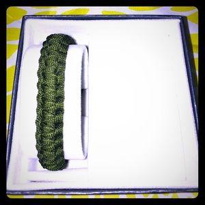 Handmade US Marine Military Cord Bracelet - Unisex